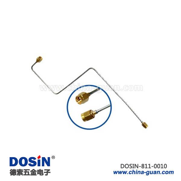 sma公头semi-rigid射频同轴线缆接sma公头配件