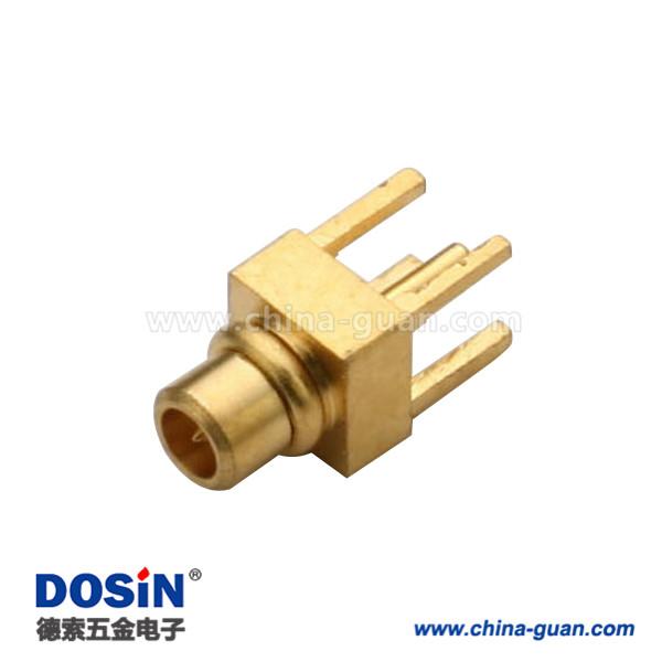 mmcx公头优质射频同轴连接器直插式接PCB板