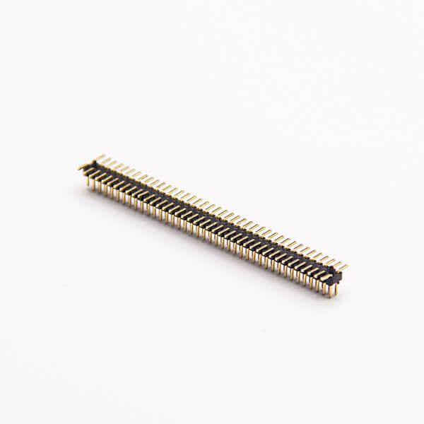 双排插针连接器直式180度1.0 PH 2×40 PIN贴板