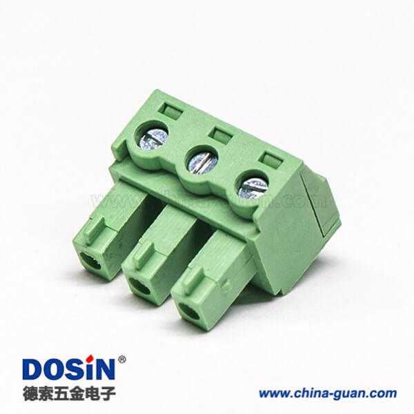插拔式穿墙端子90度弯式端子接线插头