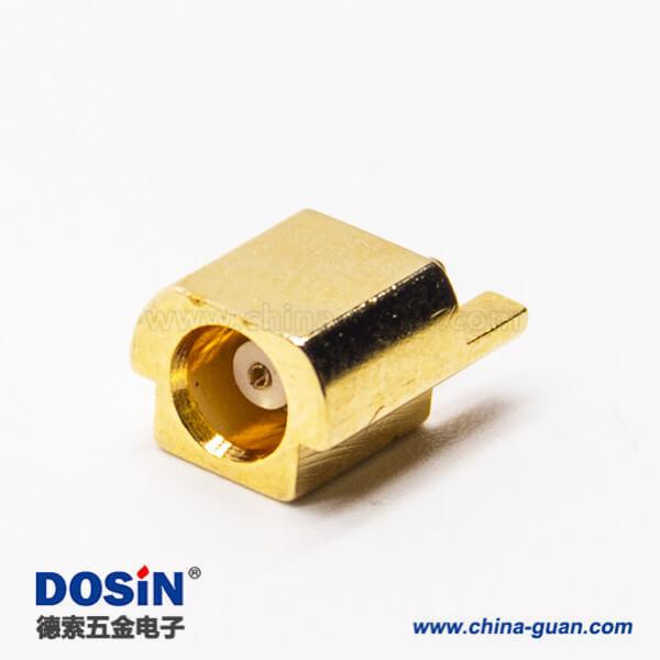 mcx母座同轴连接器直式沉板贴片式接PCB板