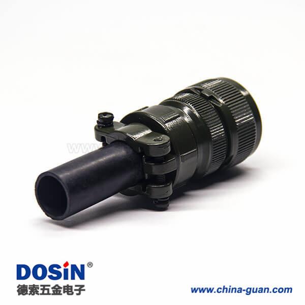MS3106A20-17S 动力军规连接器14芯直式插头
