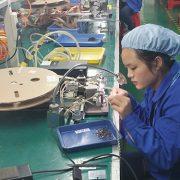 连接器制造商生产线