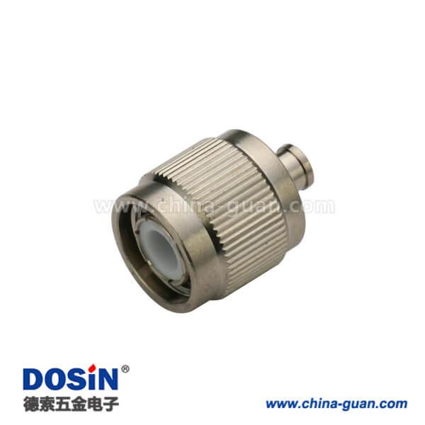 tnc型射頻連接器直式焊接公頭接線UT141