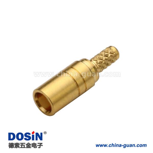mcx连接器母头低损耗射频电缆RG316直式压接式
