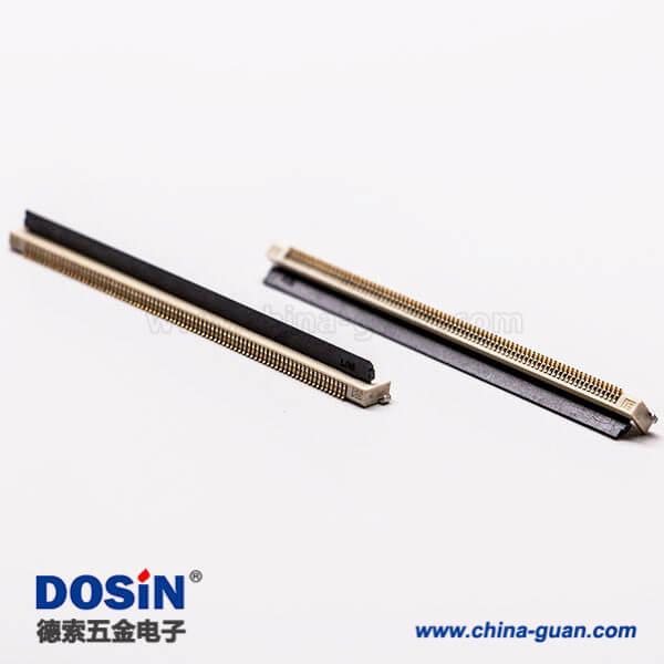 fpc 1.0mm抽屉式插座焊接80pin下接触式H1.2
