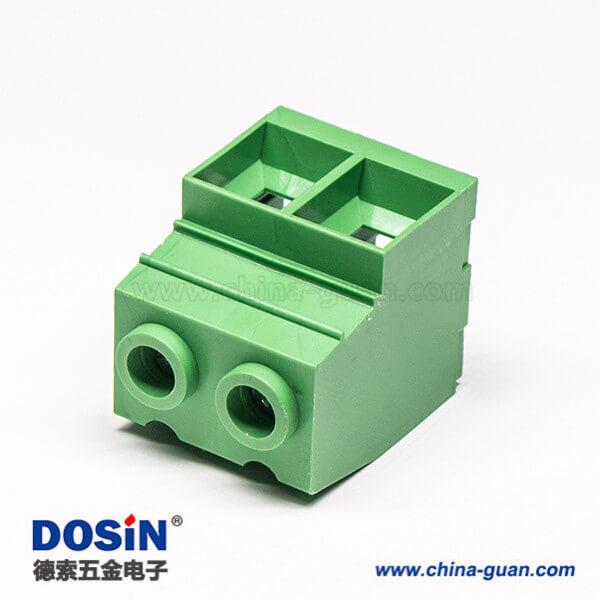 螺钉式接线端子直式穿孔PCB安装式端子连接器