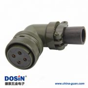 伺服电机动力4芯军规24-22 MS3108A24-22S连接器