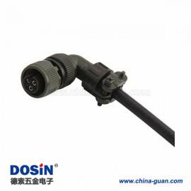 伺服连接器MS3108A10SL-3S 3芯弯式美军标航空插头