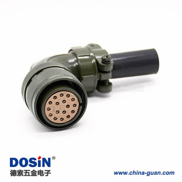 Amphenol 圆形连接器 插头母型插口 17POS MS3108A20-29S