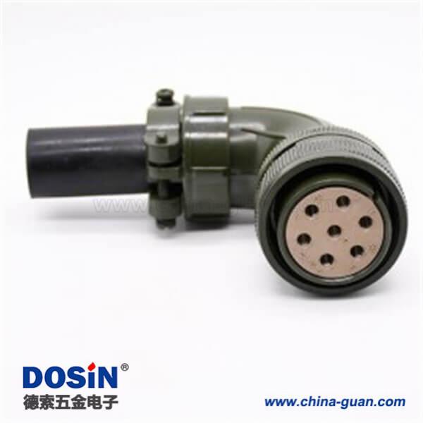 5015系列螺纹连接式圆形电连接器MS3108A24-10S
