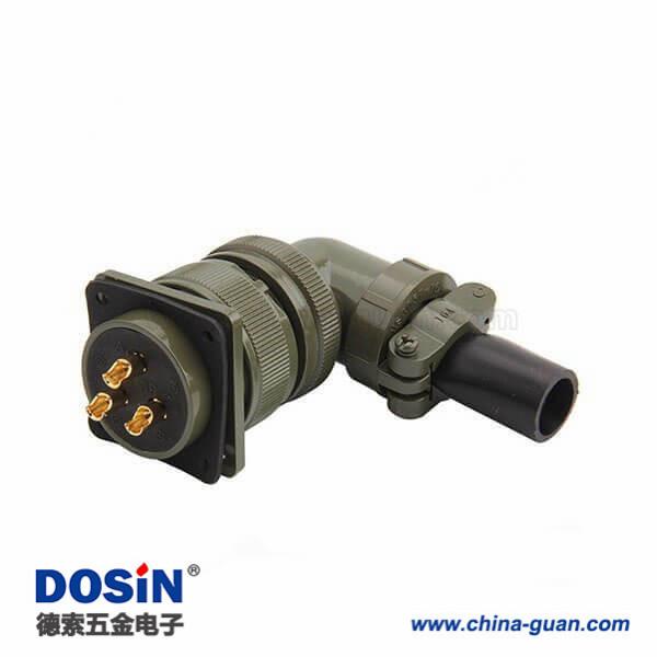 机械手臂MS3108A28-3S航空插头连接器