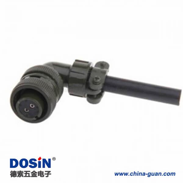 5015 MS3108A14S-9S 2芯航空插头连接器美军标防水