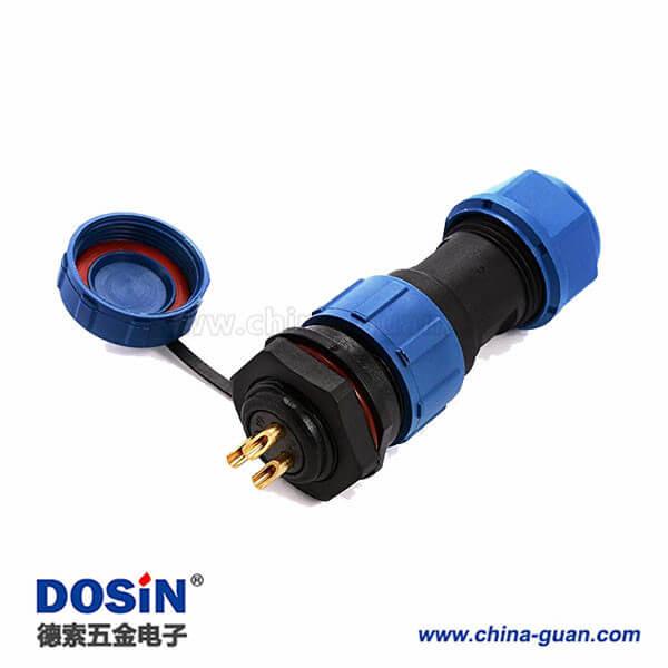 SP17防水接头户外灯IP68三芯