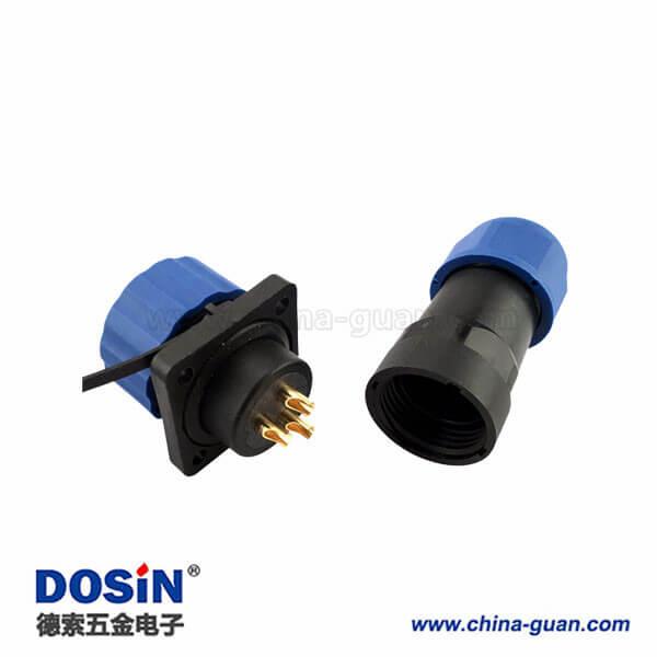 替代威浦SP17防水连接器 3芯航空插头