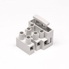 灰色接线端子2×3孔焊接式端子连接器