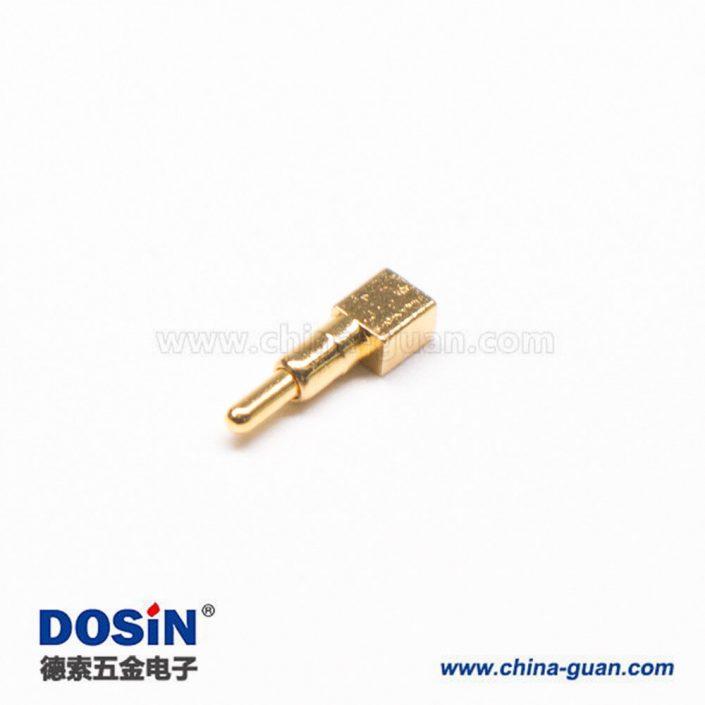 顶针连接器Pogo Pin镀金黄铜异形系列F型焊接