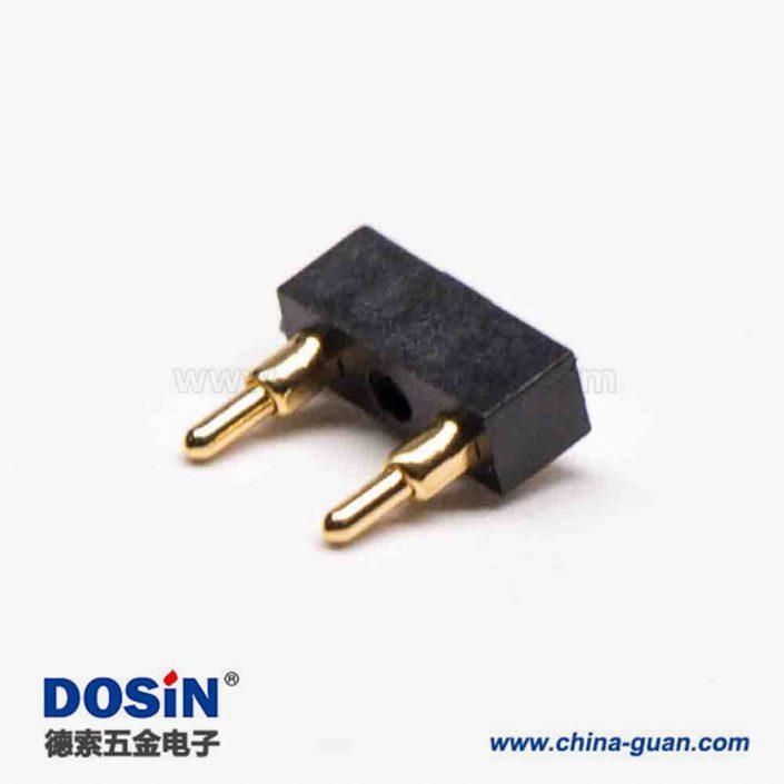 电池连接器 Pogopin2芯5MM间距焊接式多Pin系列F型