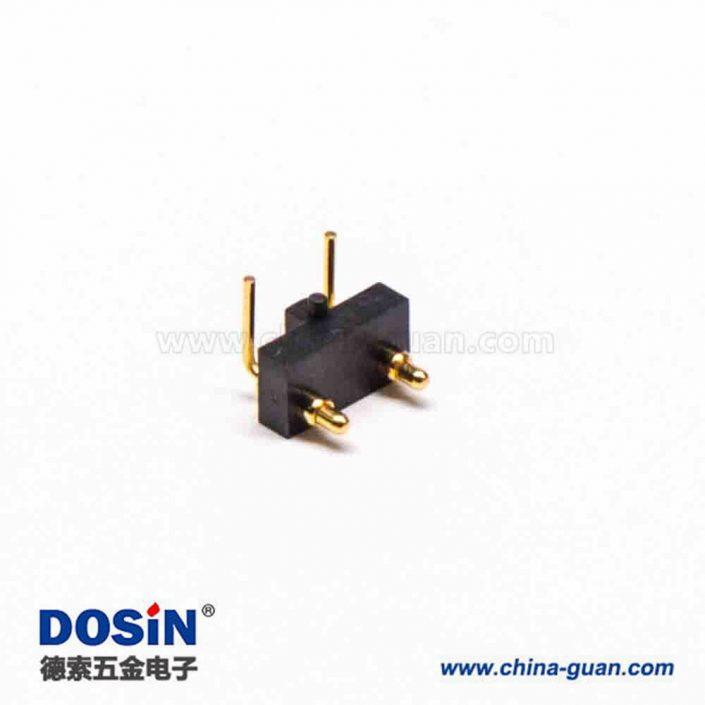 连接器弹簧针PogoPin连接器多Pin系列间距2.54MM折弯式8芯
