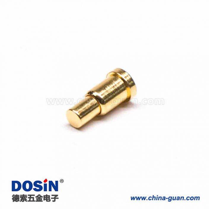 Pogo Pin贴片异形系列黄铜单芯直式插件式连接器