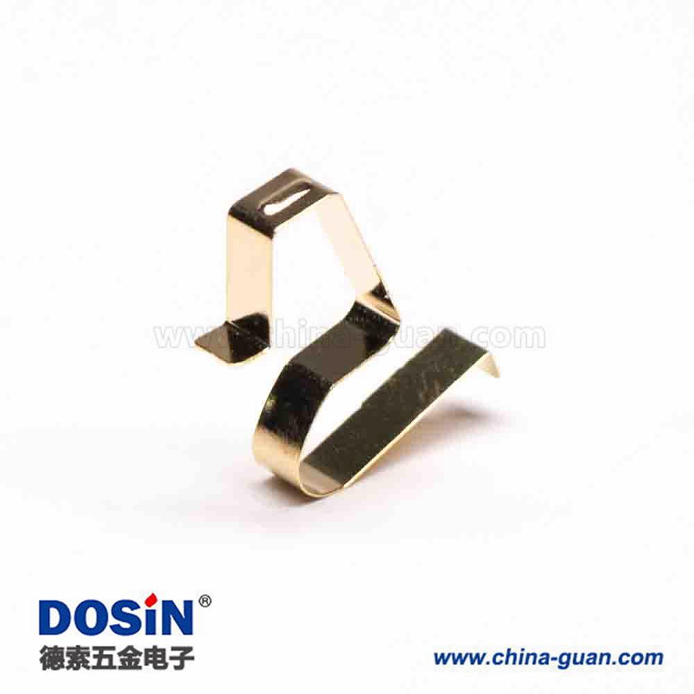 镀金铍铜弹片连接器