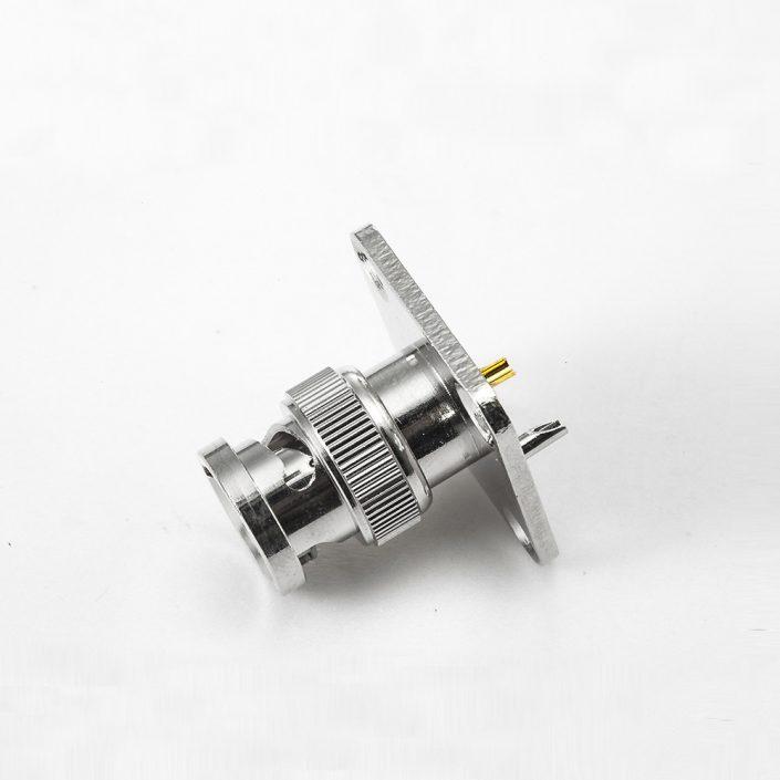 接线BNC连接器公头用于半柔性/半刚性-3