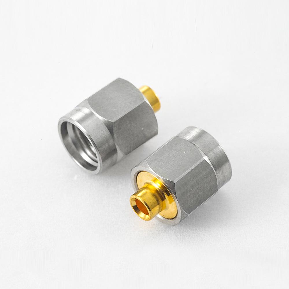 焊接SMA连接器公头接半刚性-086线材
