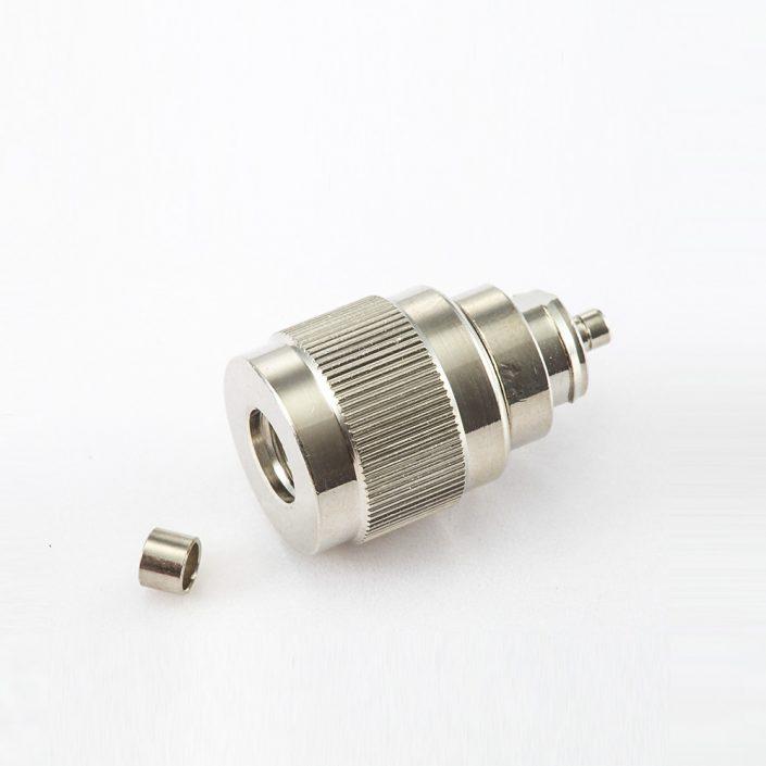 射频SMA连接器公头直式压接用于SYV50-2电缆