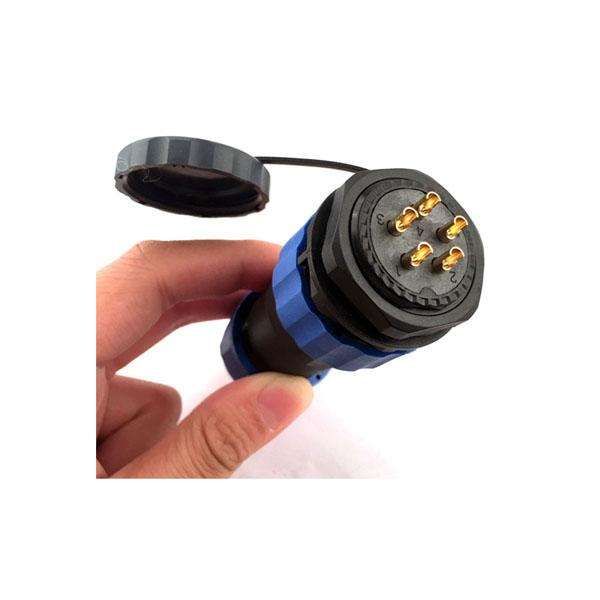SP29 5芯 IP68防水航空连接器