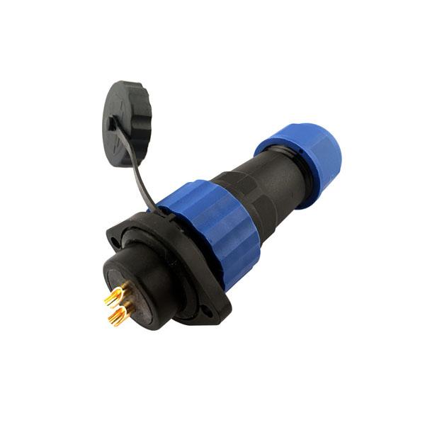 威浦SP21圆形航空插头插座 12芯防水连接器