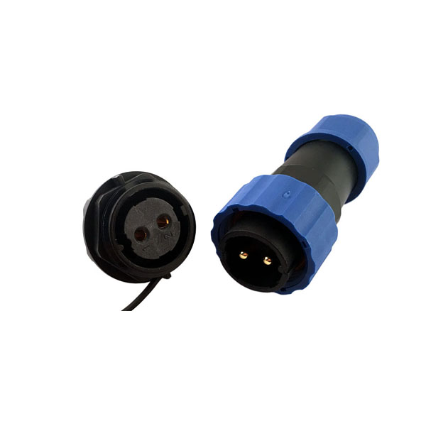 SP29-19P 航空插头插座 19芯IP68防水连接器带防水帽
