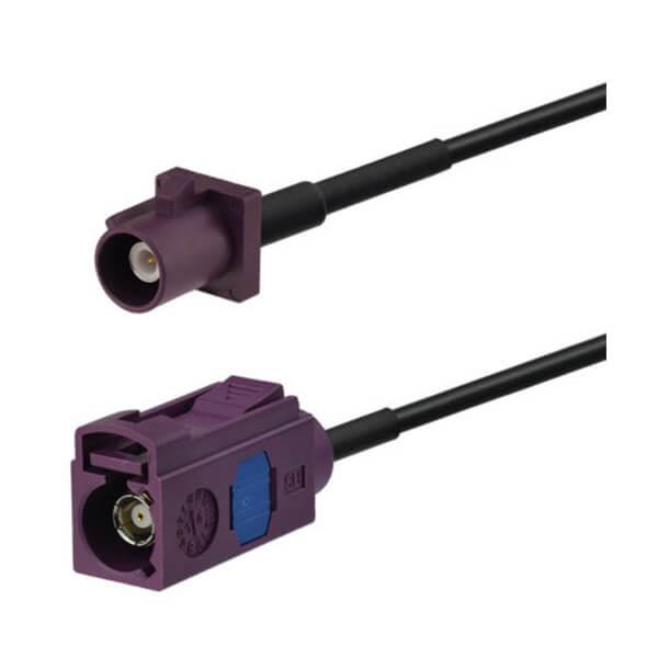 Fakra连接线D型直式公转母4G LTE 3G UMTS GSM车载天线连接器延长线3米