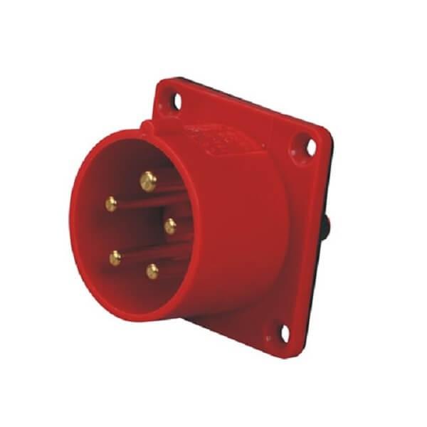 CEE5芯工业插座16AIP44暗装插座