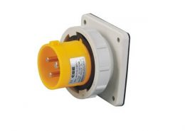 工业防水插座16A3芯IP67防水暗装插座