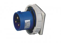 暗装工业插座IEC6030916A3芯IP67防水